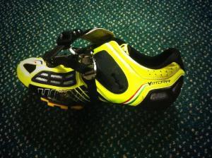 broken shoe